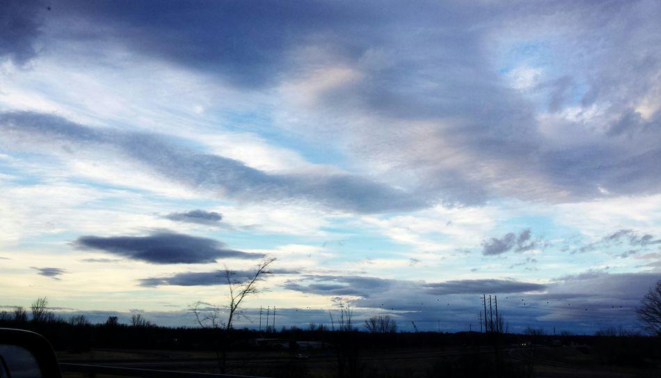 Never ending sky! Sky Blue Sky