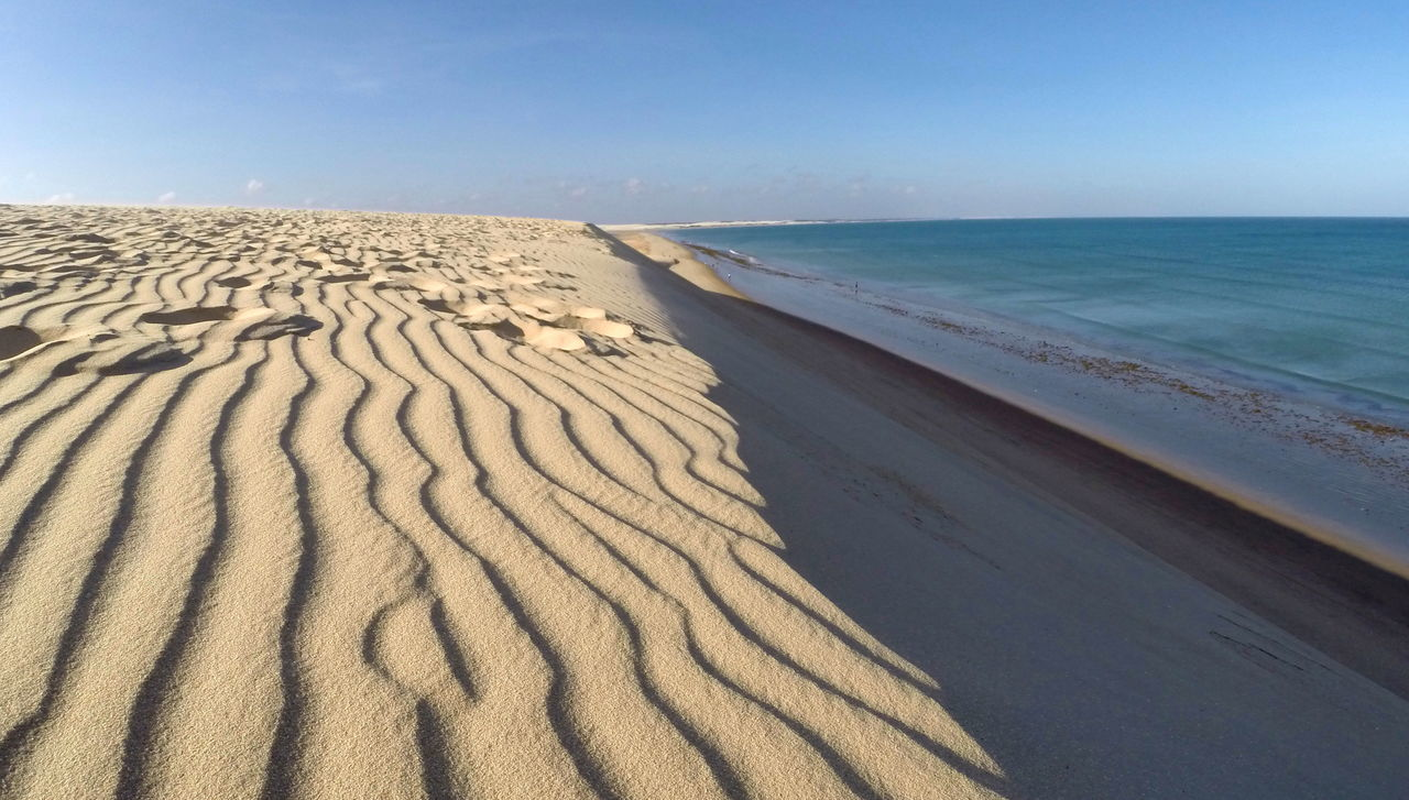 Beach Brasil Ceará-Brasil Draw Dune Jericoacoara Jericoacoara - CE Lines Sand