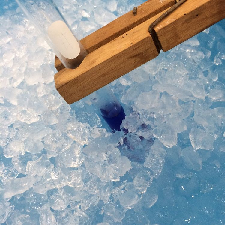Some reactions of Cobalt blue change to pink on cold condition Ice Bowl Cold Concoctions Cobalt Cobalt Blue Color Change Cold Temperature Conditions Ice Testtube Reaction Blue Blue Color