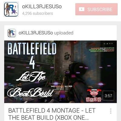 New Battlefield video up on my channel :-) ★★★★★★★★★★★★★★★★★★★★★ Check out my youtube channel www.youtube.com/user/oKILL3RJESUSo Instagram Instagood Like Love bf4 gta battlefield battlefield4 gta5 follow4follow follow me okjo igaddict instalike 2014 picoftheday Xbox youtube grandtheftauto grandtheftauto5 illest dope Xbox1r4r nofilter life summer jesus