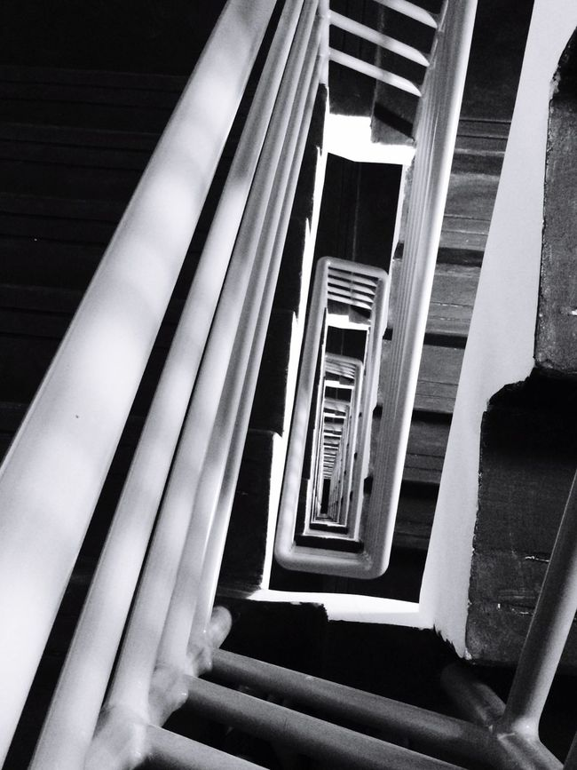 "Monochrome Photography ""stairs"""