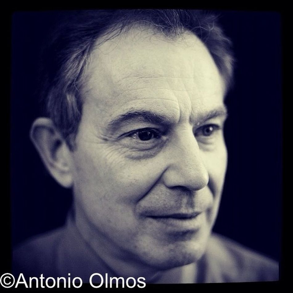 Tony Blair, former Prime Minister of UK, photographed by Antonio Olmos