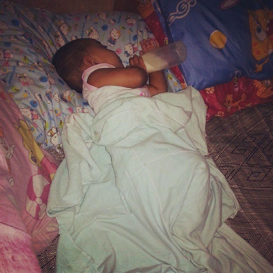 My sleeping princess. ♥♥♥♥ Baby Loveofamom Mothermode Iloveher