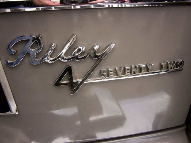 Riley Front Grill Close-up Collection Elf Large Group Of Objects Man Made Object Medium Group Of Objects No People Riley Western Script