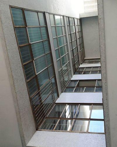 31 marzo 2016 casa del girasole, luigi moretti Palazzina Moretti Roma Architecture Archilovers Windows Innercourt Perspective Your Design Story