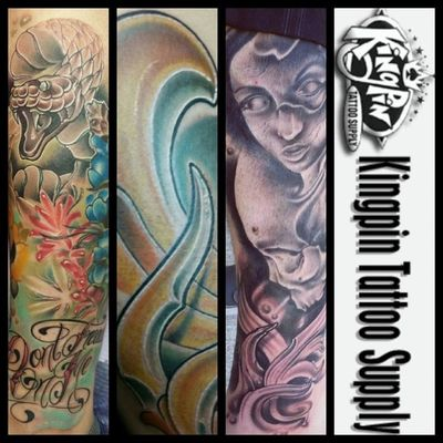 Here are some recent pieces and also go check out this dope company and my new sponsor @kingpintattoosupply @kingpintattoosupply @kingpintattoosupply it's an honor to be with you guys!!