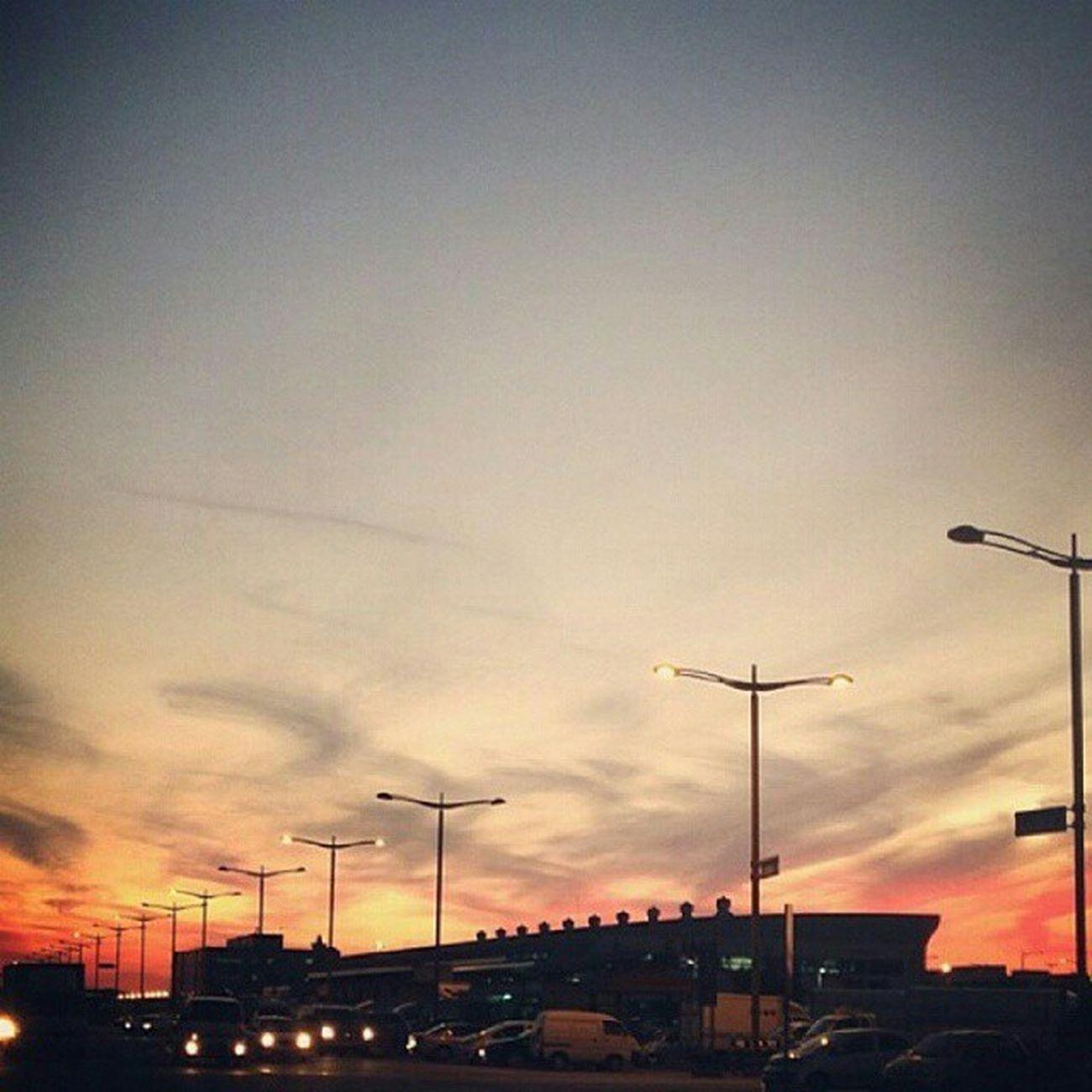 인천공항 가을 노을 하늘 sunsetskynature