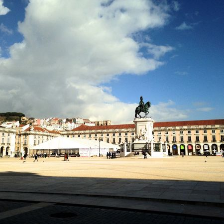 City Outdoors Travel Destinations Cloud - Sky History Day Architecture Lisbonlovers Lisbon - Portugal LisbonLight