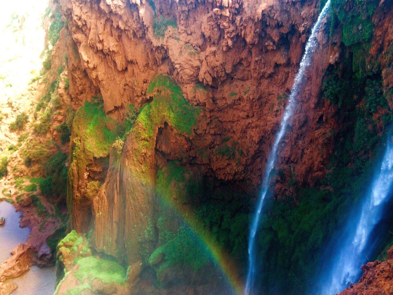 Ouzoud Falls Waterfall Waterfalls Ouzoud Ouzoud Falls Rainbow Rainbow🌈