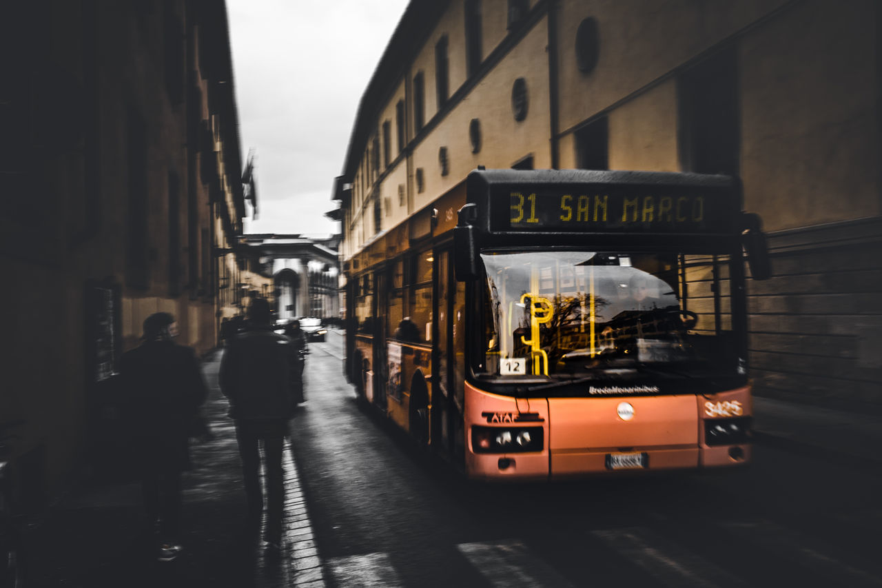 Bus Architecture City Built Structure Building Exterior Outdoors No People Day EyeEm Best Shots EyeEm Gallery EyeEm Colors Europe Eye4photography  EyeEm Best Edits Italy Florence Travel Destinations Transport People Exploring City