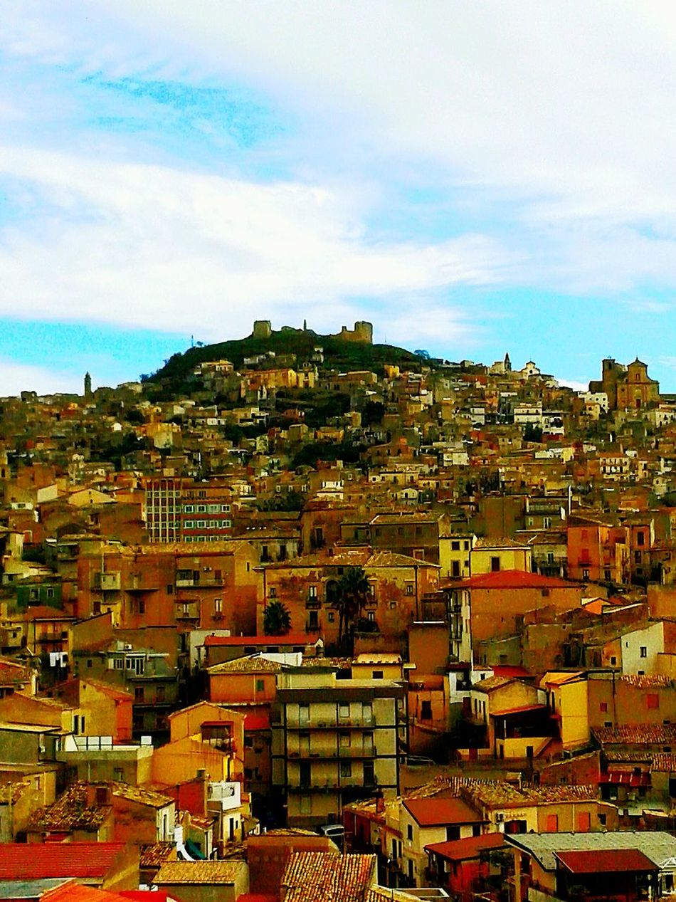 A town on an hill No People Outdoors Day Cityscape Sky City History Hill Town Landscape Landscape Photography TOWNSCAPE Town View Townscapes Townphotography Townlife