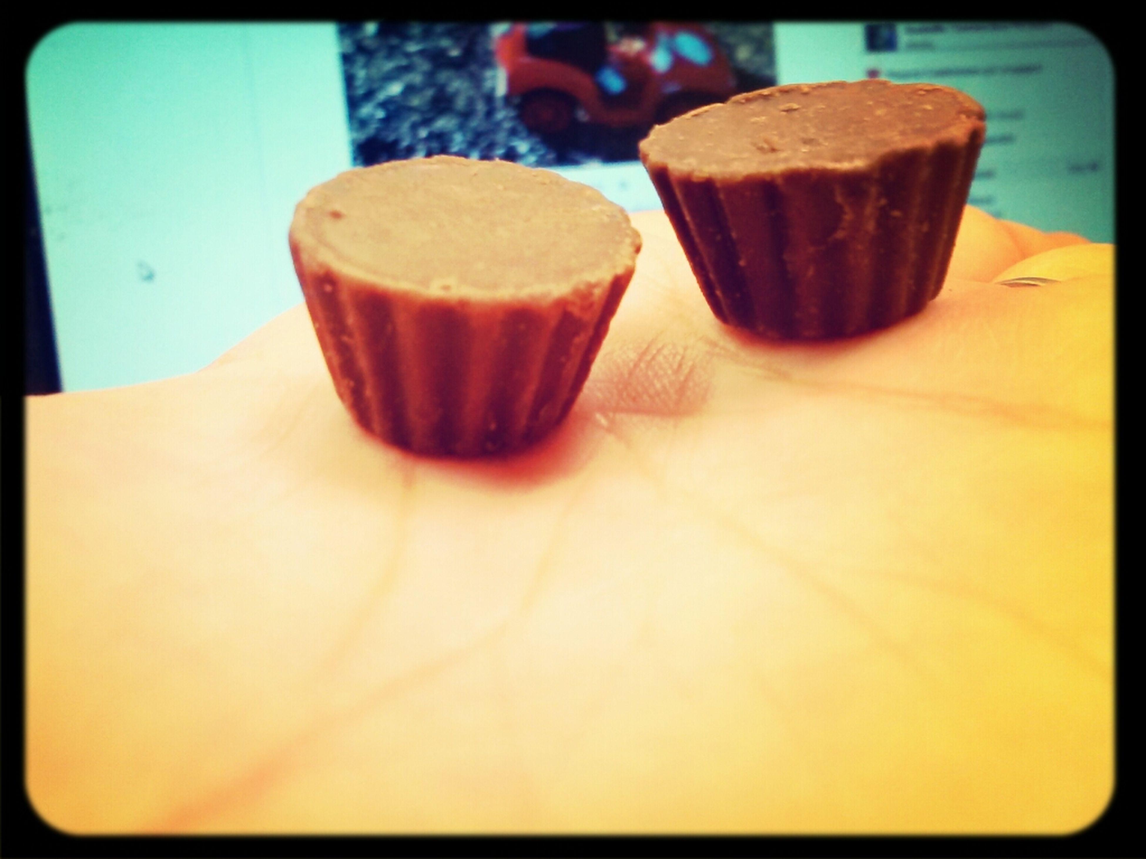 reeces peanut butter cups . <3