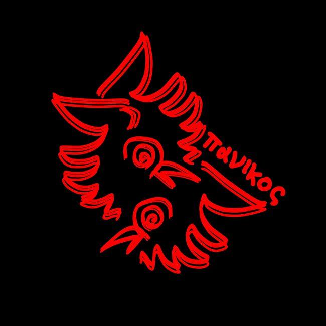 Panic / Sketch Draw Eyem-tags: Red Studio Shot Black Background Transfer Print Creativity Red Color Bloom Petal
