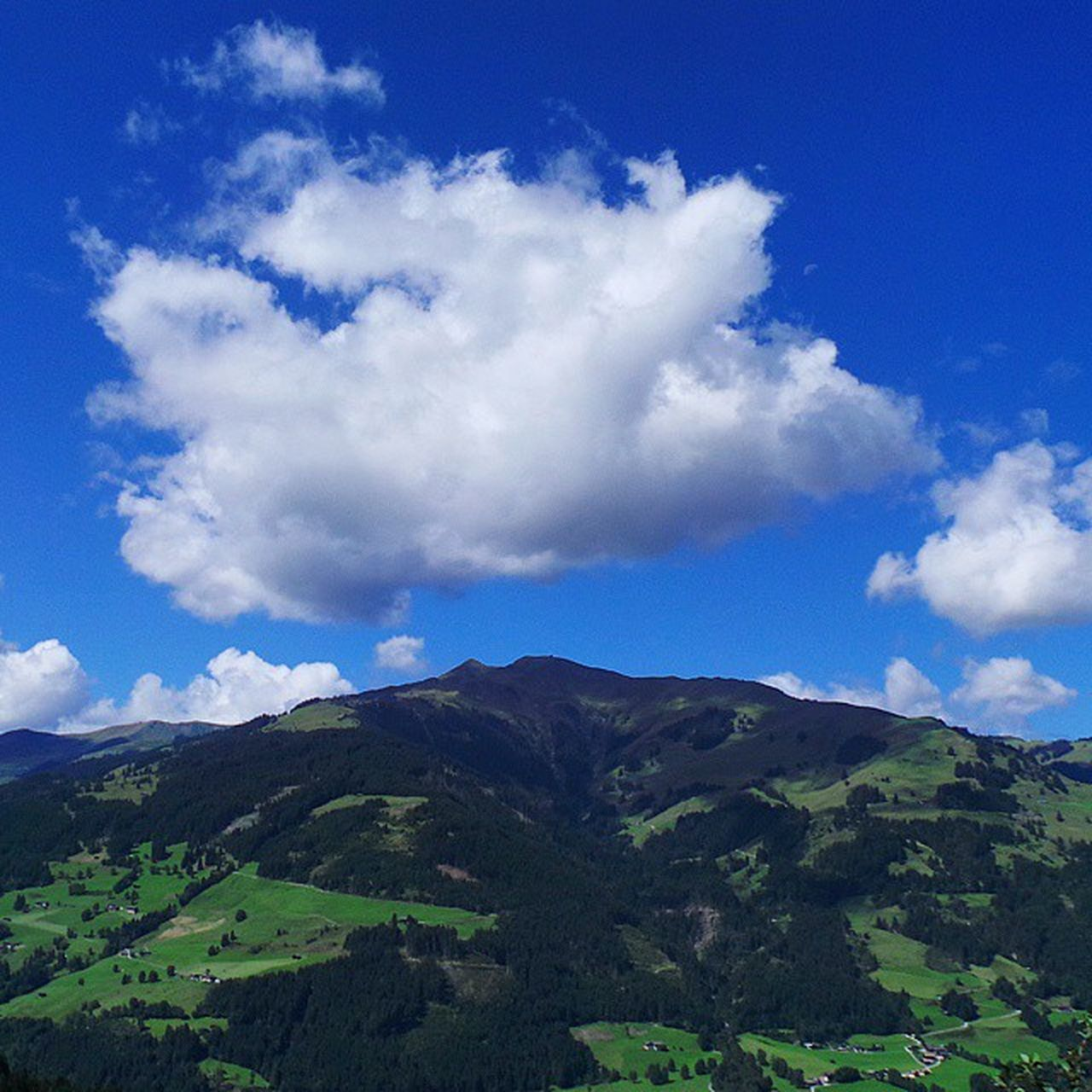 sky, beauty in nature, nature, mountain, tranquil scene, cloud - sky, tranquility, no people, scenics, landscape, day, outdoors