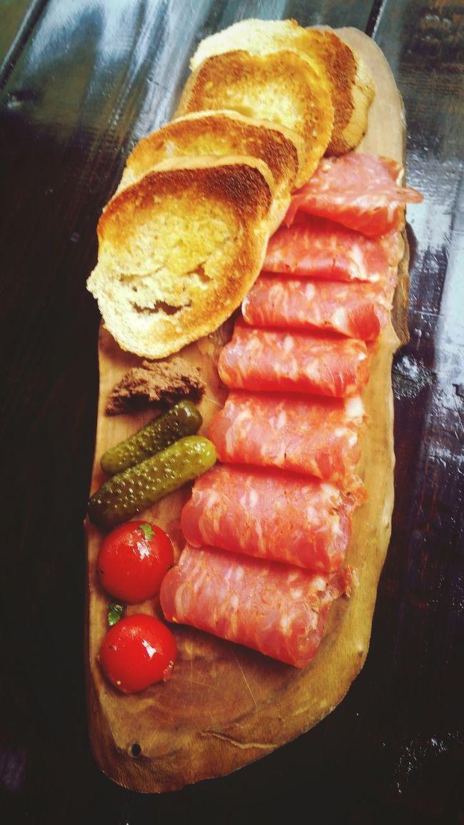 Salami Italian Portland Food