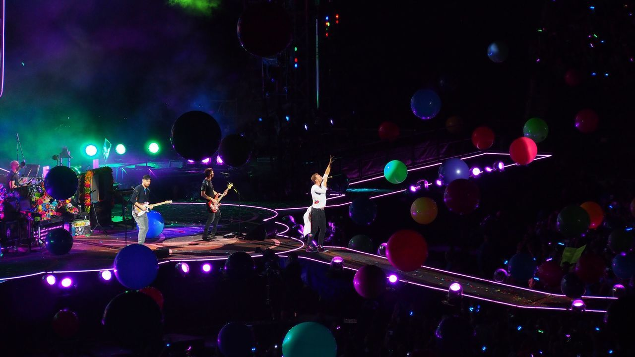 Coldplay Coldplay Concert  COLDPLAY ♥ 2016 AHFODtour Levi's Stadium San Francisco Music Brings Us Together