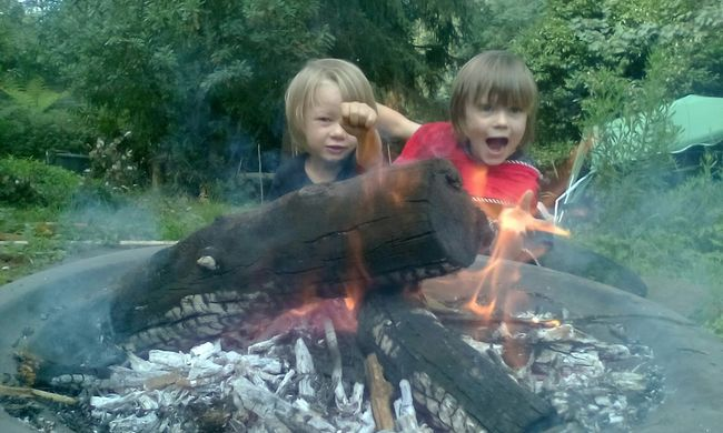 Boys Playing With Fire Fire Magic Hi Dad X Super Heros  Taking Photos No Edit Relaxing Brothers My Boys Fire Fun