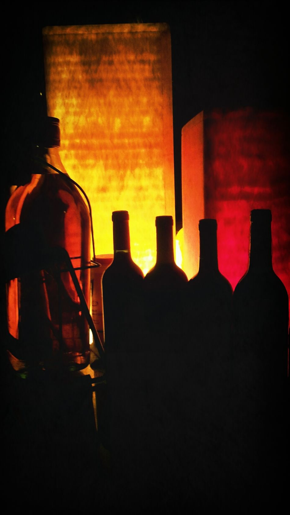 Photography Wine Relaxing Night