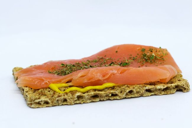 Appetizer Bread Breakfast Close-up Crispbread  Food Freshness Gourmet Healthy Eating Healthy Lifestyle Homemade Indulgence Meal Organic Ready To Eat Ready-to-eat Salmon Sandwich Serving Serving Size Show Us Your Takeaway! Showcase April Smoked Salmon  Snack Studio Shot