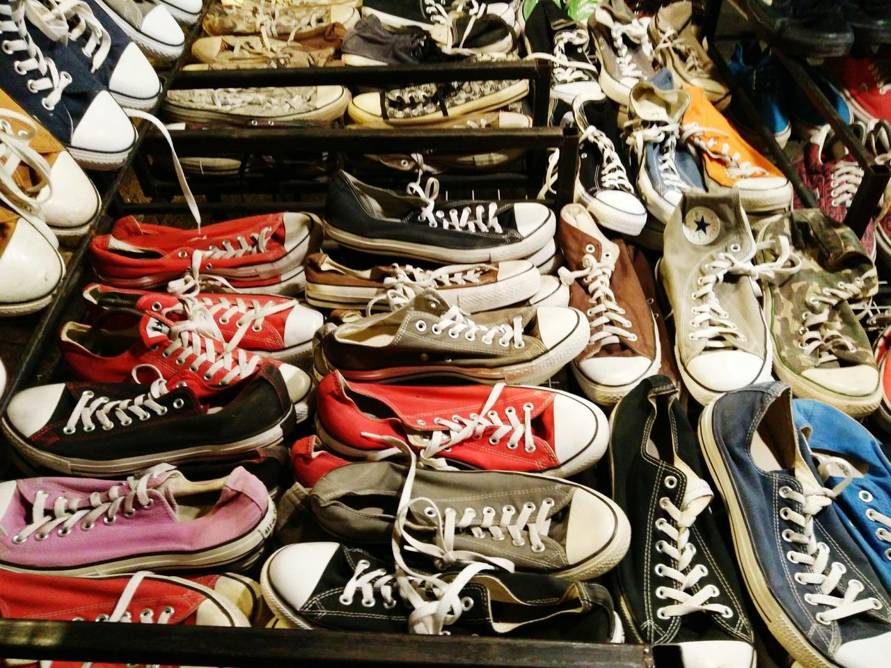 shoe, choice, variation, retail, large group of objects, no people, for sale, abundance, store, fashion, market, indoors, day, close-up