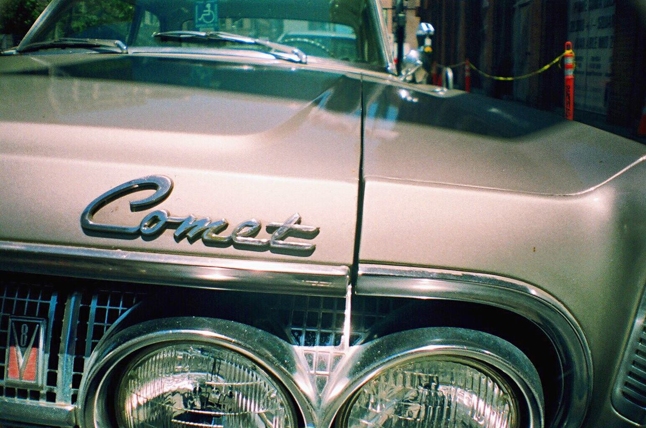 Film Photography Film Comet Car Land Vehicle Mode Of Transport Classic Car Outdoors Koduckgirl