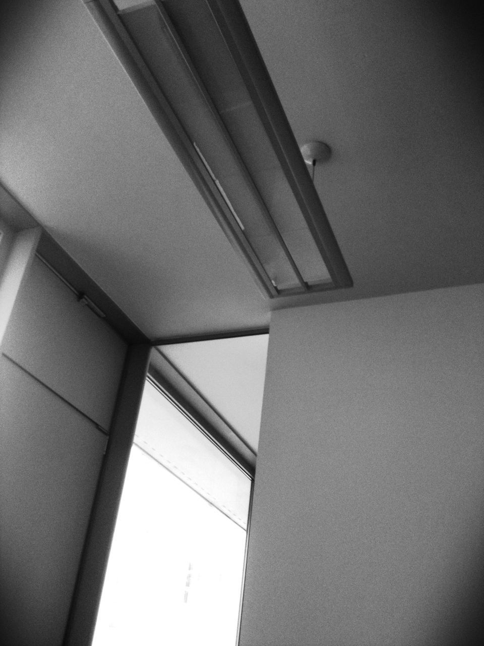 ceiling, indoors, low angle view, architecture, built structure, no people, day, close-up