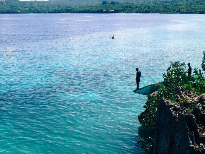 The Great Outdoors - 2017 EyeEm Awards Water Day High Angle View Outdoors Real People Nature Men One Person Beauty In Nature Olympustough Tg870 Siquijor, Philippines Live For The Story EyeEm Best Shots Eyeem Philippines EyeEm Nature Lover EyeEm Done That.