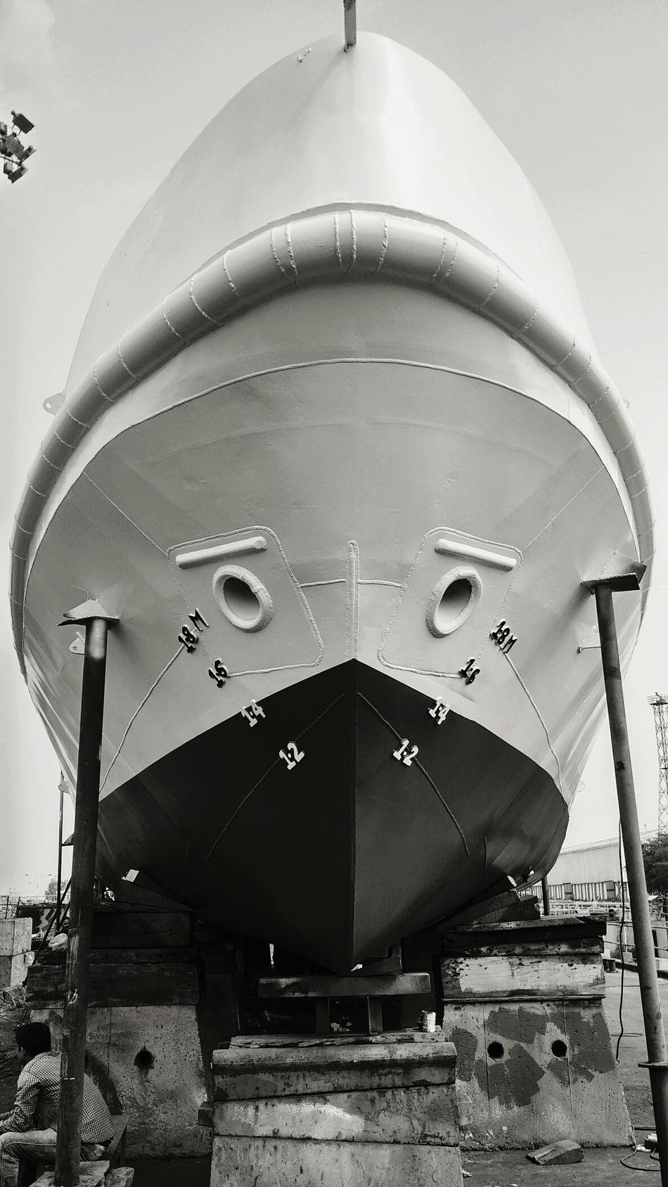 Launching soon. Survey Boat Vessel Shipbuilding Yard Ships⚓️⛵️🚢 Paradip