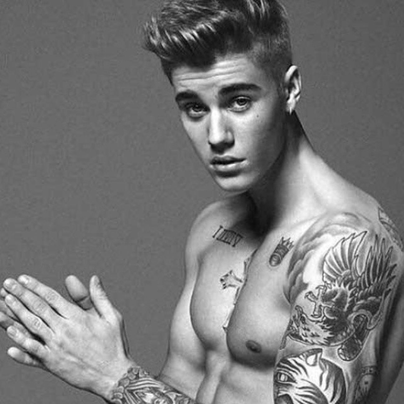 Unbeliebable! Pop brat Justinbieber chosen as new Calvinklein model.