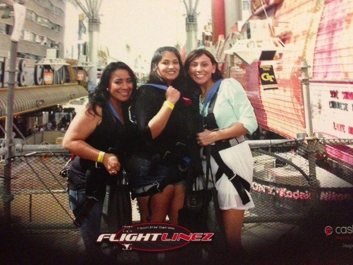 Ziplining in Vegas!!! Ahhhhh!