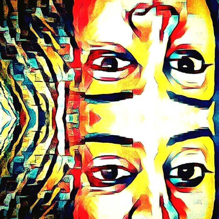Personal Perspective Arts Culture And Entertainment Patterns And Designs In Nature Portait In The Mirrow Selfportrait Artanddesign  Colorsandart ArtandSoul Escapism