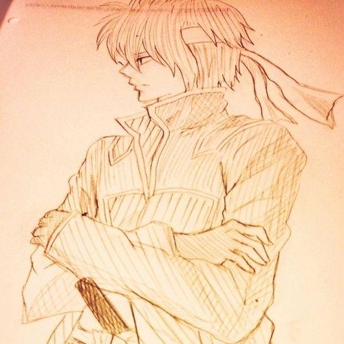 Anime Comic Gintama TakasugiShinsuke Illust 漫画 銀魂 高杉晋助 絵