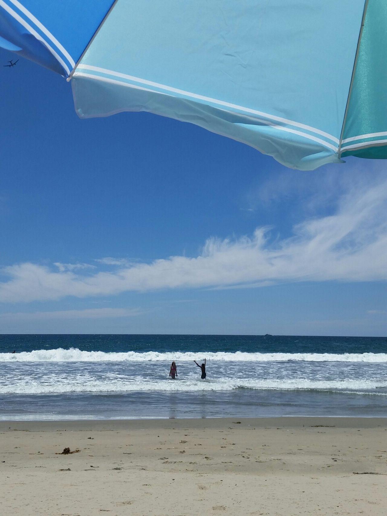 Beautiful stock photos of sunny, Beach, Beach Umbrella, Blue, Cloud