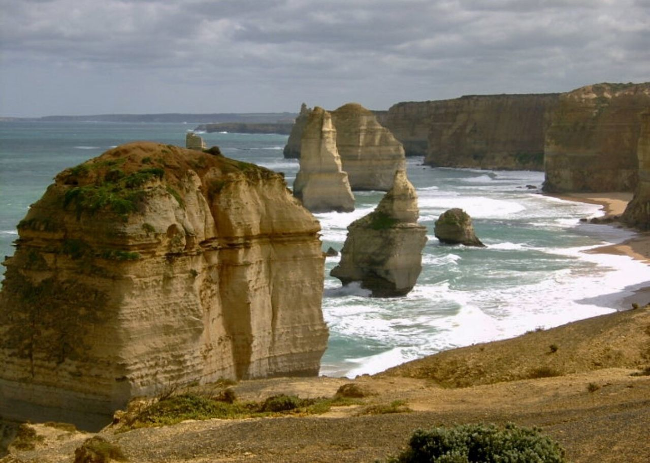 The Seven Sisters/Apostles. Great Ocean Road. Victoria, Australia. Rock Formation Rock - Object Beauty In Nature Tranquil Scene Southern Australia Travelling Photography Choatgrapy Digital Camera EyeEm Nature Lover EyeEm Best Shots Original Photography Australian Coastline Landscape #Nature #photography Clouds And Sky 7 Sisters Apostles Great Ocean Road Great Ocean Road, Australia Victoria Australia This Week On EyeEm. Bestshots Best Shots EyeEm Choatesphotos EyeEm Best Shots - Nature EyeEm Best Shots - Landscape The Great Outdoors - 2017 EyeEm Awards The Street Photographer - 2017 EyeEm Awards