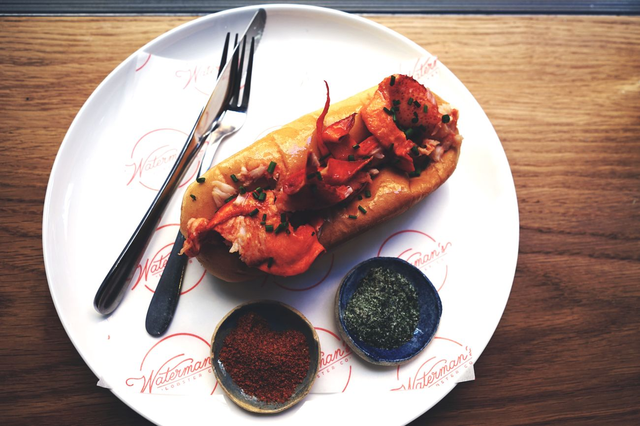 Lobster roll, Waterman's, Potts Point. Food Porn Sydney Food Photography Open Edit