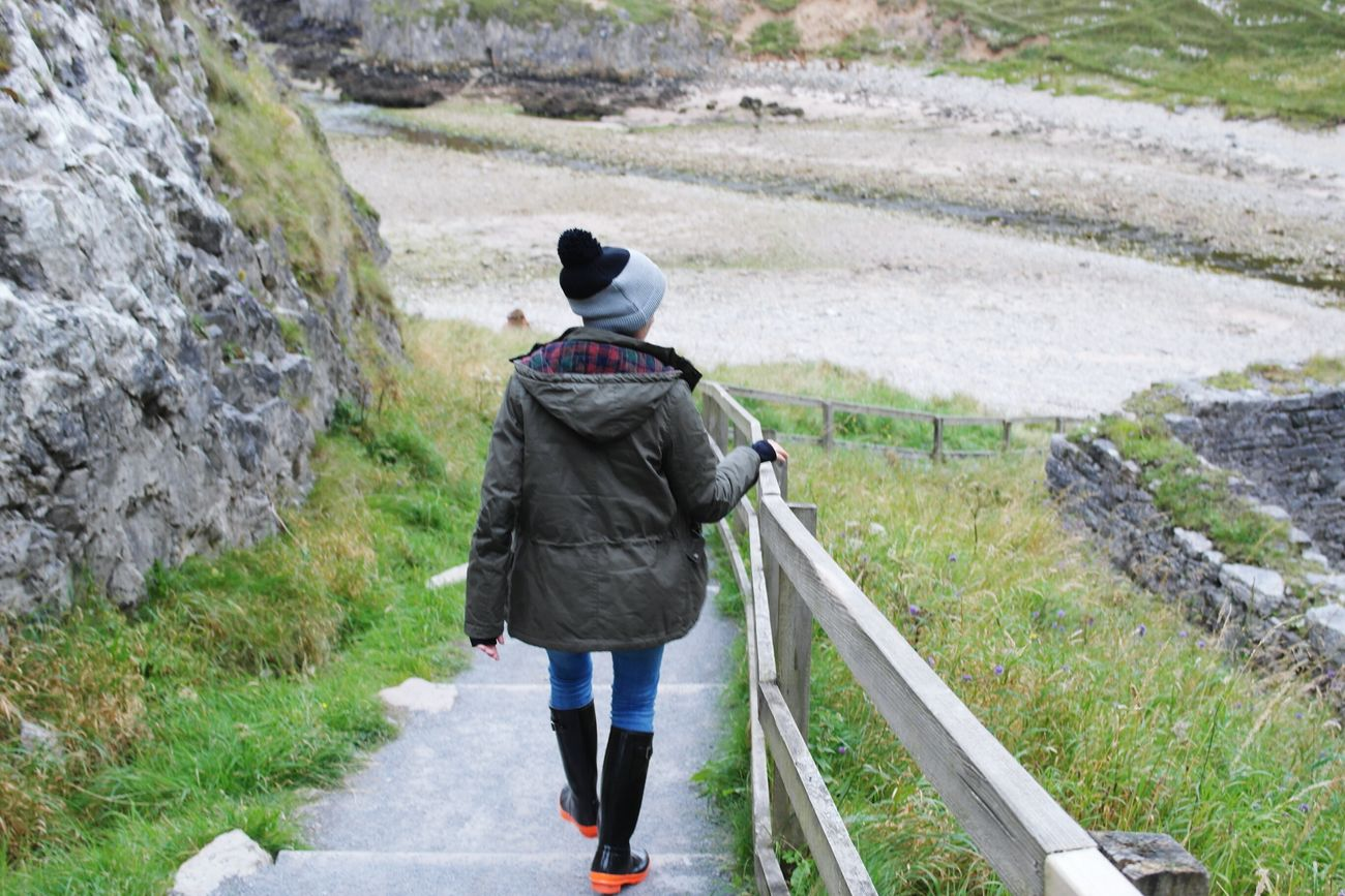 Outdoors One Person Happy Travel Scotland Nature Beauty In Nature Camping Nc500 Home Scotland. Tranquility Love Girlfriend Warm Clothing Happiness Knit Hat Smiling Portrait Scenics Scotland Is Incredible Beauty Smoocaves Coastline Landscape