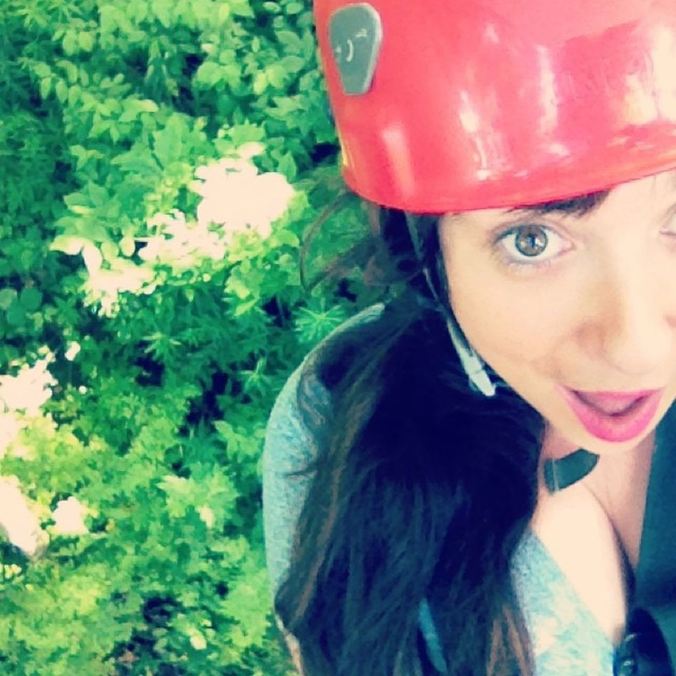 Just hanging around, 200ft in the air. NBD @longpointecoadv Travelingjj