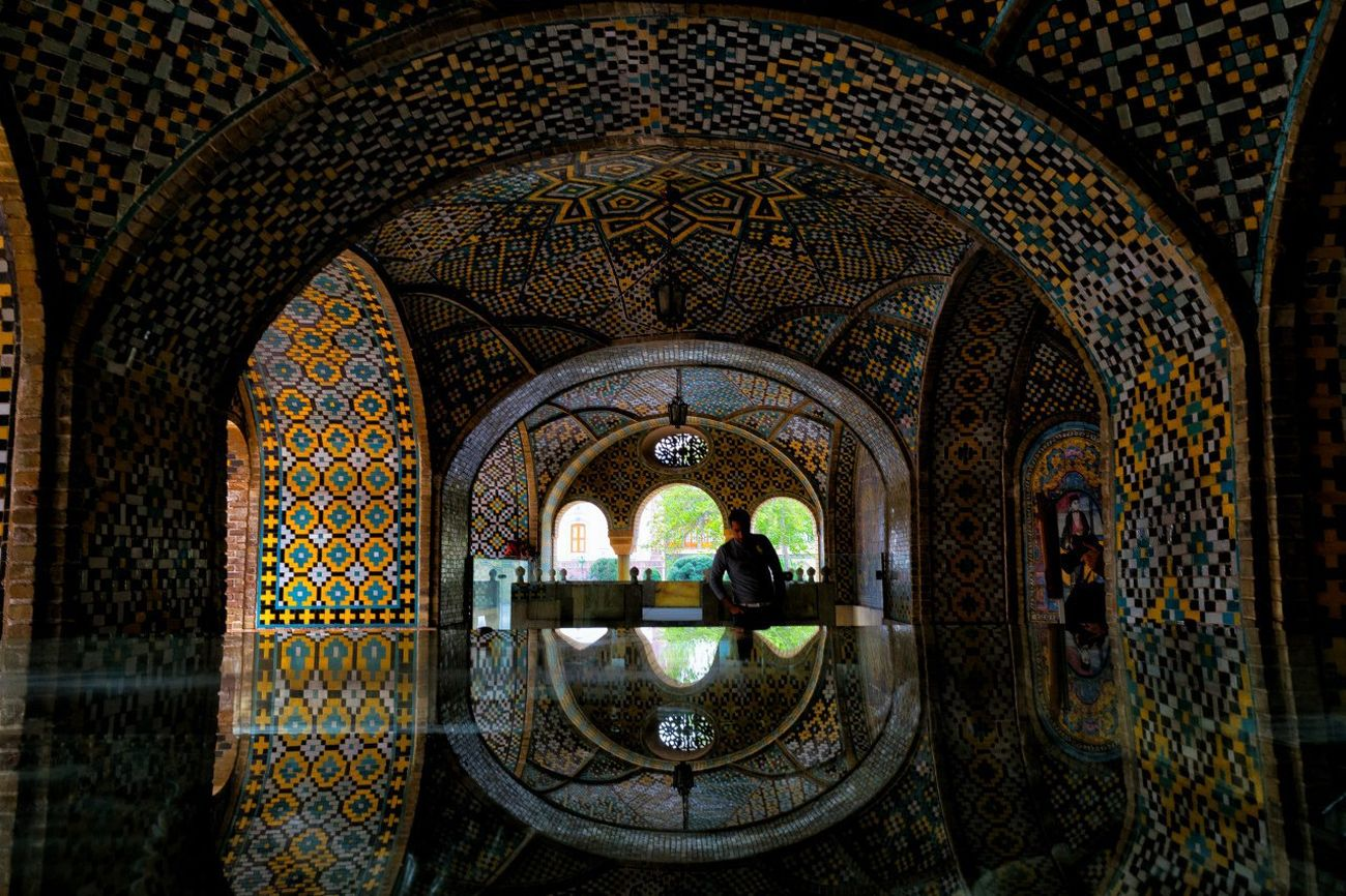 Arch Pattern Architecture Indoors  Day Travel Destinations Window Tehran Iran Photography Reflection No People Golestan Palace Springs Natural Light Nikon D3300 Nikon