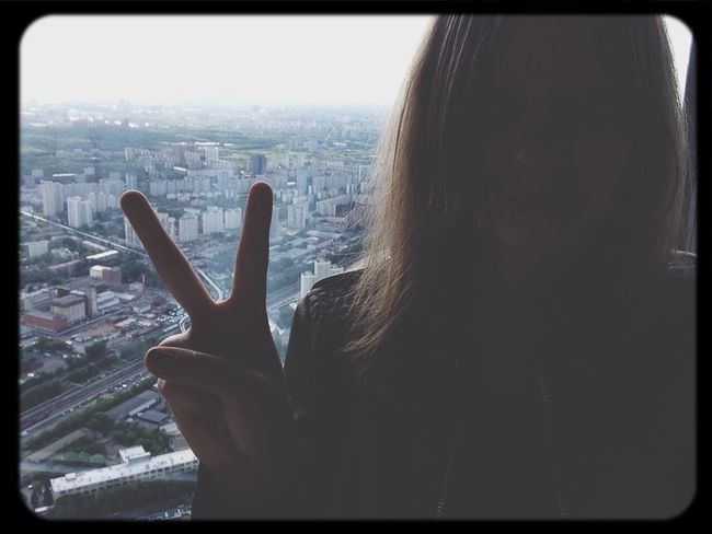 Moscow Enjoying Life останкинская башня  Wow!!!! The Sky Is Very Beautiful :-) :-) :-) :-)
