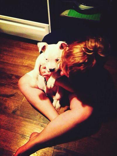 My baby ? Pit Bulls Cute♡ Cute Pets I Love My Dog