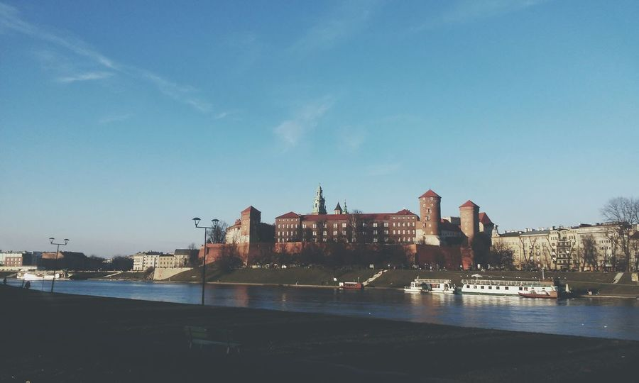 Cracow Castle Enjoying Life Enjoying The Sun Wisla River Landscape