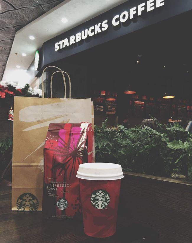 Starbucks Cafe Latte Coffee Taking Photos