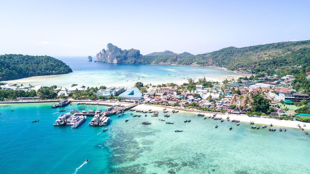 Aerial photo in Thailand's Phi Phi Islands First Eyeem Photo Flying High EyeEmNewHere