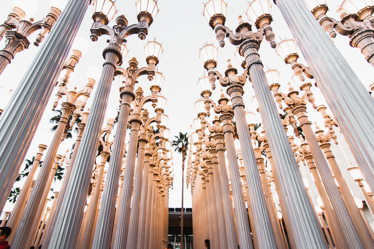For bookings: 4thandspring@gmail.com www.4thandspring.com Architecture Art Built Structure Design Installation Art Lacma Lacma Lights Los Angeles, California Low Angle View No People Urban Urban Lights