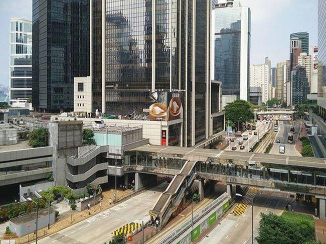 🌁 ----- ------ ------ Concretejungle Buildings Admiralty Road Highway Bridge Hkig Instameethk Oneplusone Art Photography Discoverhongkong EyeEm Urbanexploration