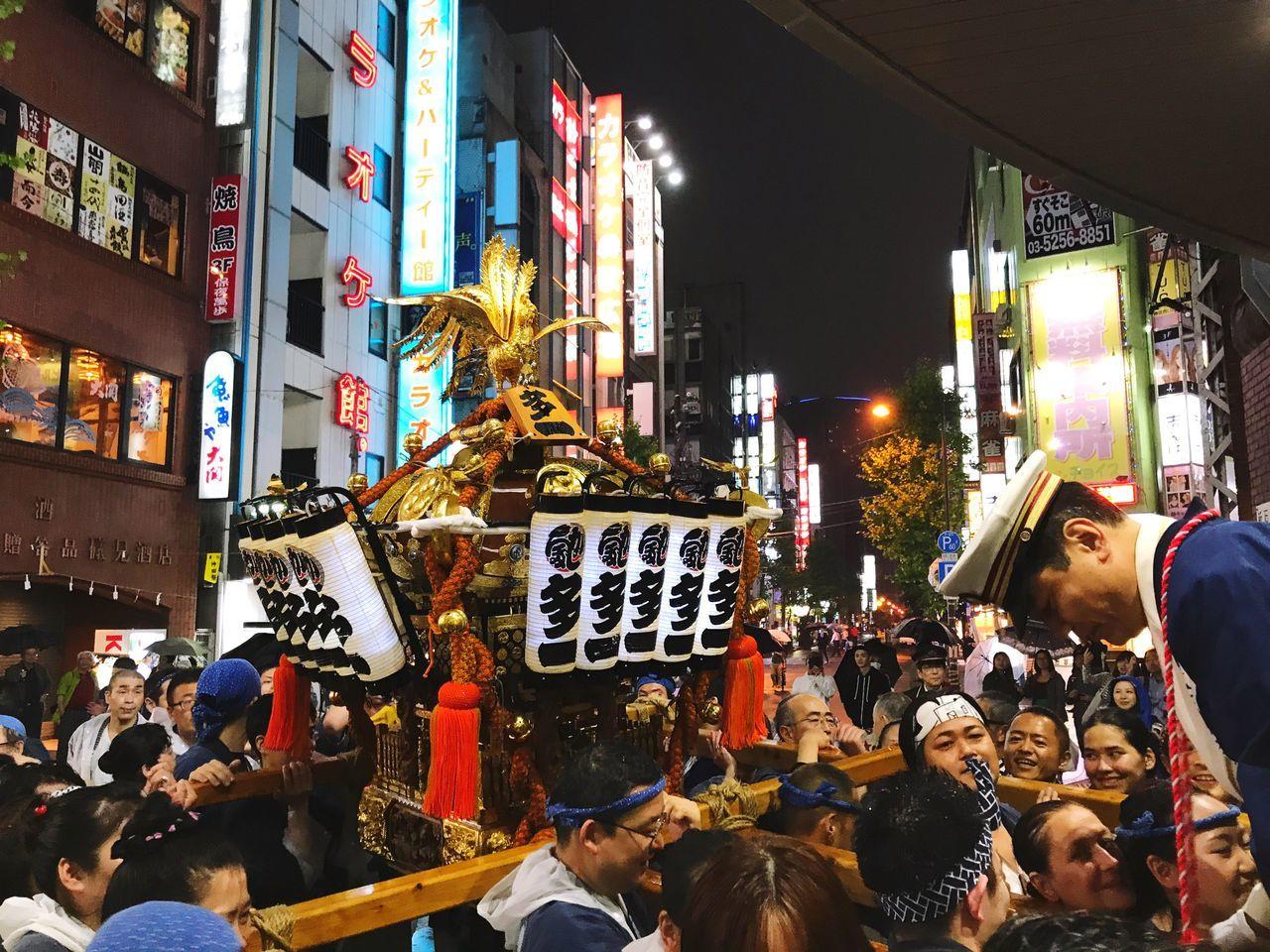 東京 Crowd Large Group Of People Arts Culture And Entertainment Street Photography People Introducing Culture Of Japan Which Must Be Left To The Future…… 未来に残す日本の文化 祭り Tokyo Street Photography