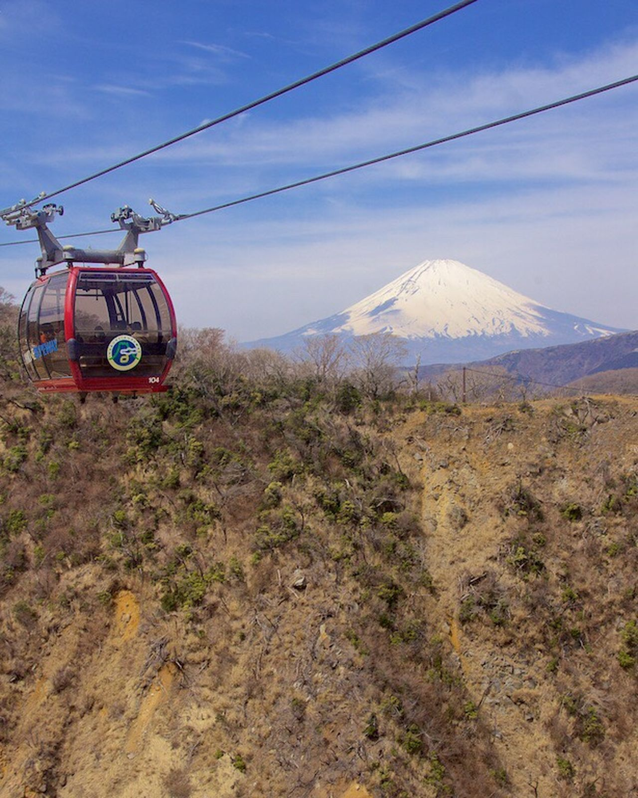 Hakone HAKONE!! Ropeway Skyway Cable Car Cablecar Cableway Lift Mt. Fuji Japan