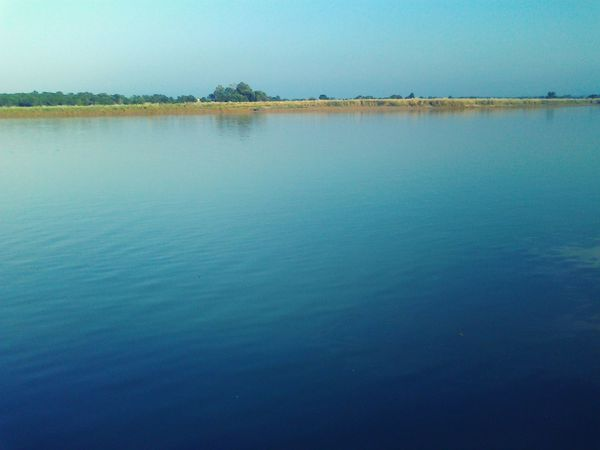 Riverside Riverview Peace And Quiet Water Summer Blue Water Nature Peaceful Place JhelumRiver First Eyeem Photo Outing Calm Calm Water