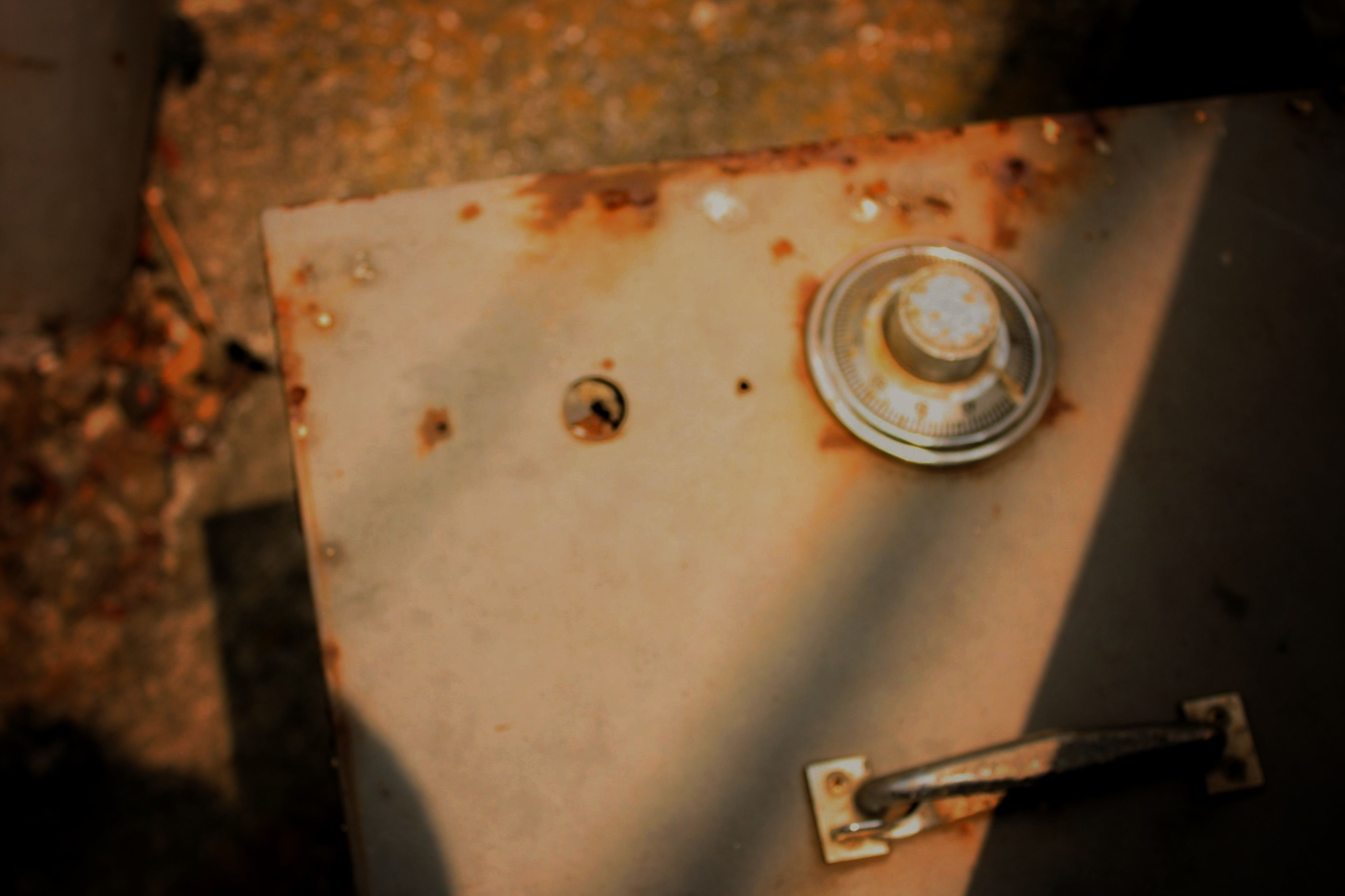 close-up, indoors, old, metal, high angle view, damaged, no people, part of, abandoned, rusty, day, obsolete, old-fashioned, wall - building feature, reflection, wet, focus on foreground, selective focus, glass - material