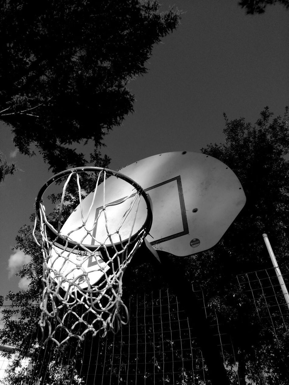 Sport No People Tree Sky Low Angle View Clear Sky Outdoors Day Close-up Basketball Hoop Sport Grass Social Issues Rear View Miles Away Time Great Atmosphere NBA NbanFamily Love